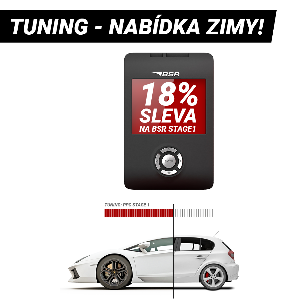 Tuning BSR Stage1 - sleva 18%